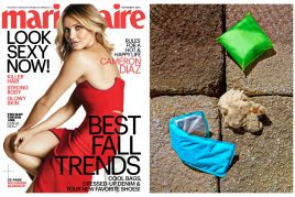 "<span style=""color: #777777;"">Our go! pad's first fashion spread in Marie Claire!</span><br> <br>"