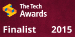 SHE is a finalist for The Tech Awards 2015.