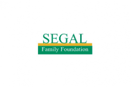 "<span style=""color: #8f8f8f;"">Segal Family Foundation</span><br>"