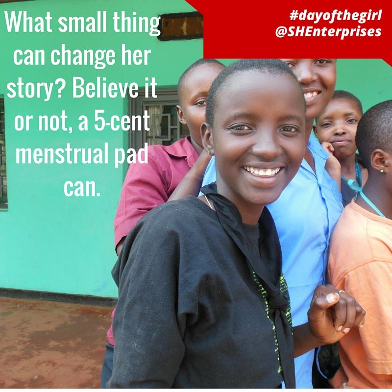 #dayofthegirl 5 cent pad