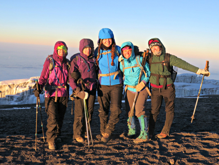 Our Kilimanjaro #climbforSHE team achieved its audacious goals to supply 6,000 girls with the go! pads they need by raising over $53,000.