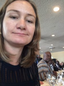 Founder and CEO Elizabeth Scharpf at 2016 UNGA Week Luncheon.