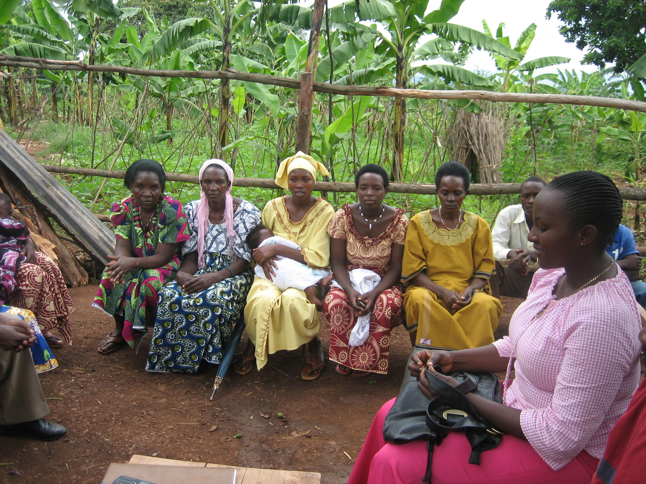 SHE trained 28 Community Health Workers in Rwanda on health and business skills.