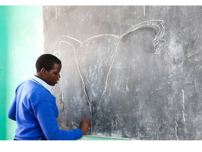 Rwanda's Ministry of Health committed to menstrual health education in school guidelines.