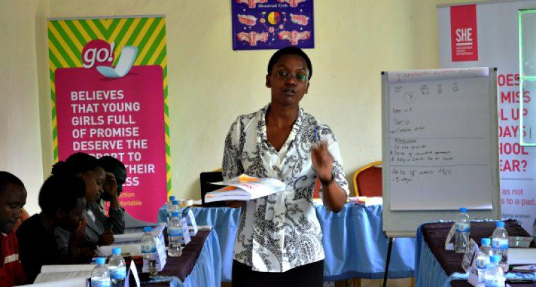 Flora leading teachers training session Nov 2014